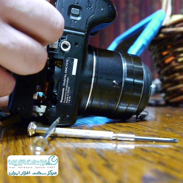 تعمیر لنز دوربین پاناسونیک