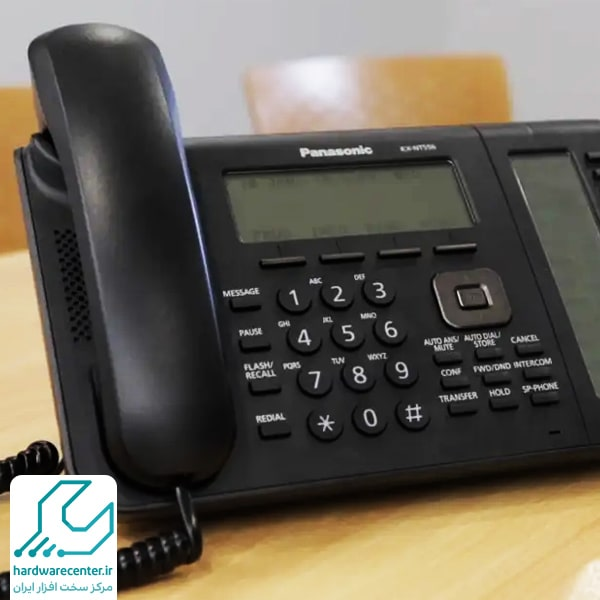 متصل کردن خط شهری به تلفن سانترال پاناسونیک
