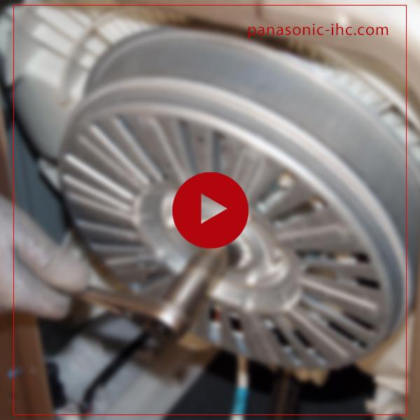 آموزش تعویض موتور ماشین لباسشویی پاناسونیک