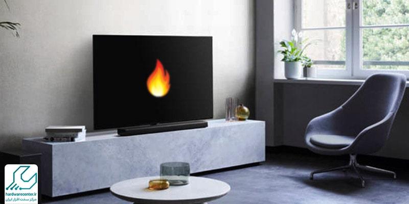 داغ شدن تلویزیون