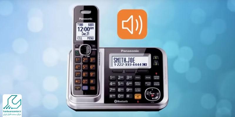 نحوه فعال سازی منشی تلفن پاناسونیک در گوشی های بی سیم